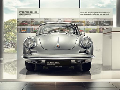 Willkomen bei Ihrem Porsche Classic Partner.